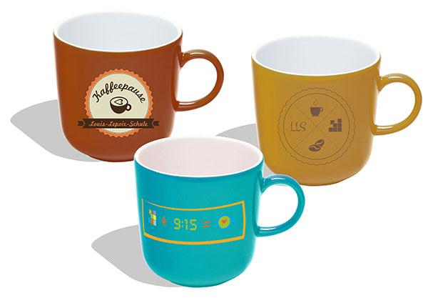 Kaffeetassen Entwürfe