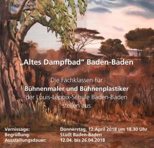 """Ausstellung """"Altes Dampfbad"""" Baden-Baden"""