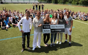 """Gemeinsamer Sport fördert Projekt """"Schule ohne Rassismus"""""""